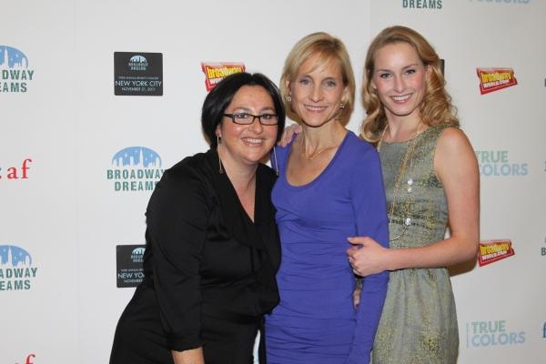 Annette Tanner, Vicki LeVine and Ginna LeVine