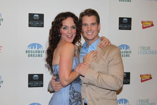 Dane Cox and Melissa Errico