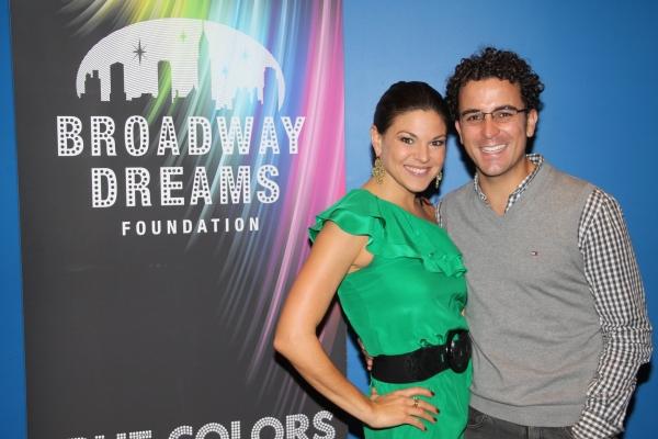 Tracy Jai Edwards and Carlos Encinias