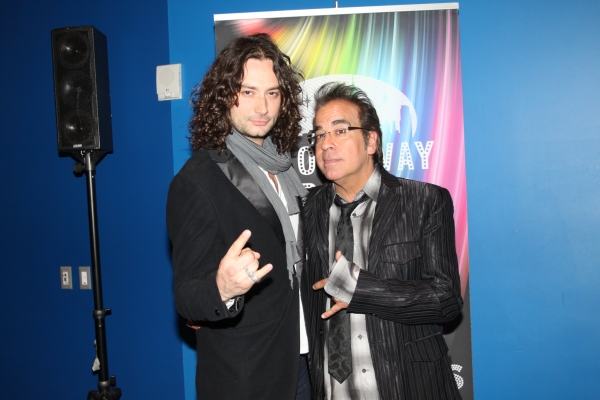 Constantine Maroulis and Richard Jay-Alexander