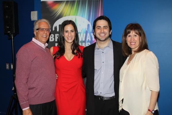 James Rosen, Jennifer Diamond, Robert Diamond and Robin Rosen