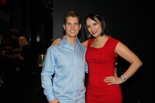 Dane Cox and Eden Espinosa