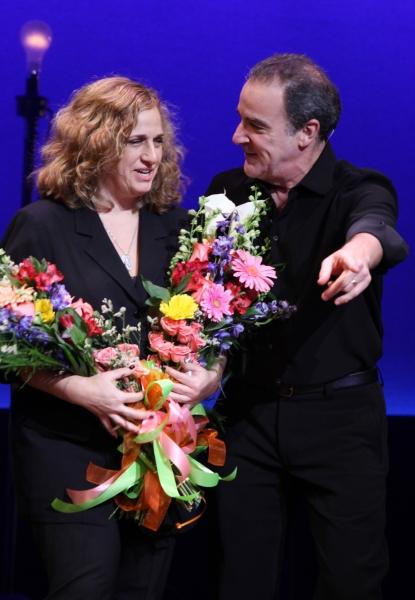 Mandy Patinkin & Producer Staci Levine  Photo