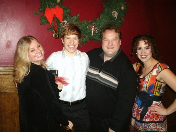Brenda Didier, Mark Kosten, L. Walter Stearns and Caroline Kobylarz at THE CHRISTMAS SCHOONER 'Sails' Back Into Chicago