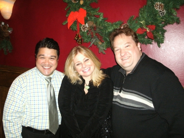 Eugene Dizon, Brenda Didier and L. Walter Stearns at THE CHRISTMAS SCHOONER 'Sails' Back Into Chicago
