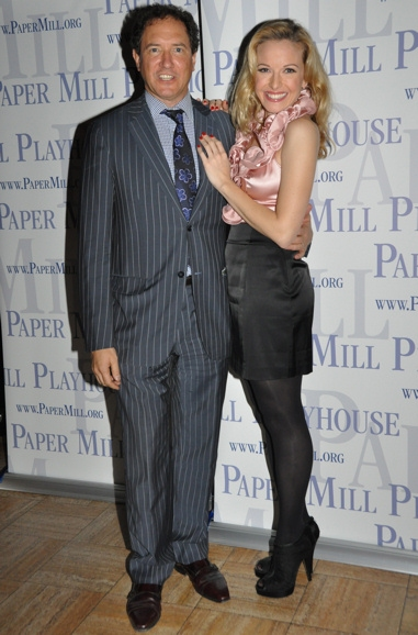 Kevin McCollum and Meredith Patterson at WHITE CHRISTMAS at Paper Mill Playhouse Opening Night Party