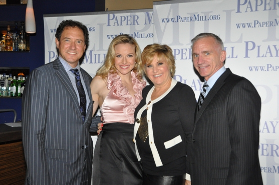 Kevin McCollum,  Meredith Patterson, Lorna Luft and Mark S. Hoebee
