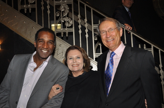 Norm Lewis, Randie Levine-Miller and W. David McCoy Photo