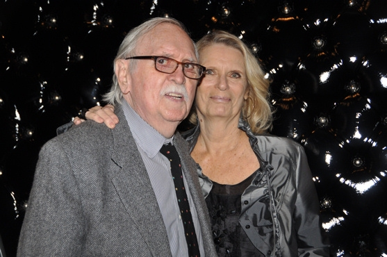 Thomas Meehan and Carolyn Meehan at Barbara Cook Honored with York Theatre Company's 2011 Oscar Hammerstein Award