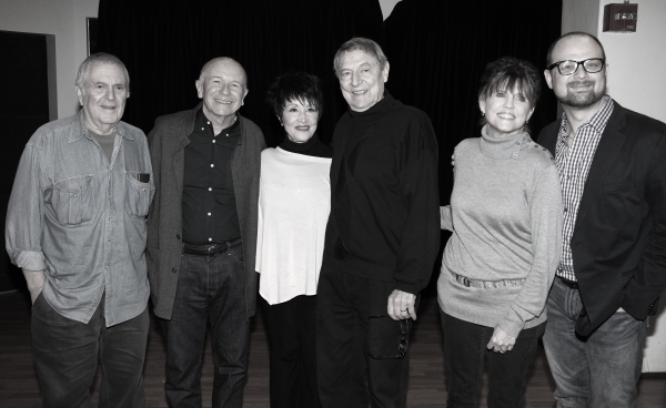 John Kander, Terrence McNally, Chita Rivera, John Cullum, Ann Reinking and Carl Andress at Chita Rivera, John Cullum & THE VISIT In Rehearsal