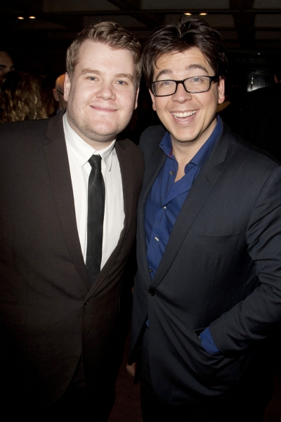 James Corden and Michael McIntyre