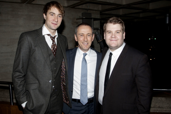 Oliver Chris, Nicholas Hytner (Director) and James Corden