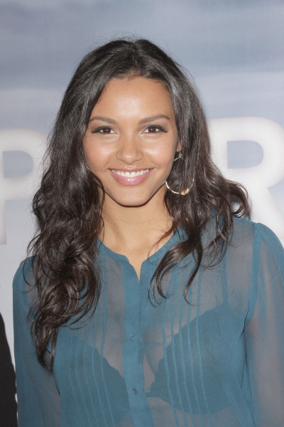 Jessica Lucas at Inside the SUPER 8 DVD Release