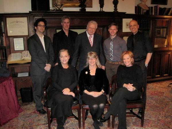 Jason Zinoman, Jack Gilpin, Brian Murray, Bobby Steggert, Tom Viola, Allison Mackie, Judith Ivey and Cynthia Harris