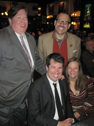 Joseph Harding, Tom Cannon Jr., Ethan E. Litwin and Lisa Litwin