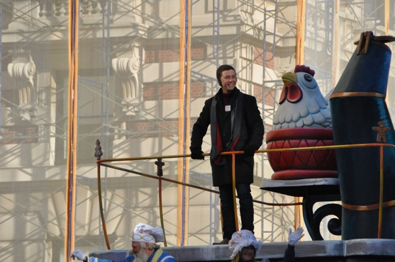 Scotty McCreery at The 85th Annual Macy's Thanksgiving Day Parade!