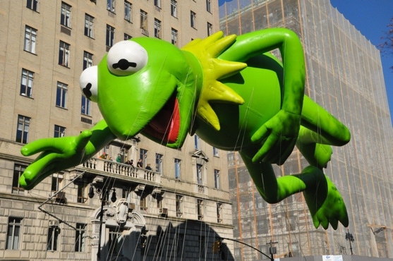 Kermit The Frog at The 85th Annual Macy's Thanksgiving Day Parade!