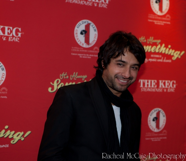 Jian Ghomeshi at IT'S ALWAYS SOMETHING Red Carpet