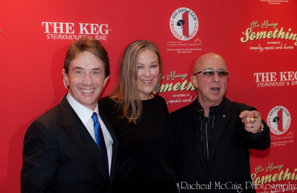Martin Short, Catherine O'Hara and Paul Shaffer