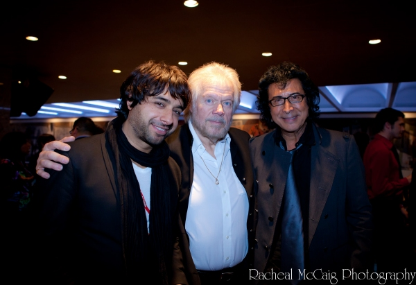 Jian Ghomeshi, Randy Bachman and Andy Kim at IT'S ALWAYS SOMETHING Red Carpet