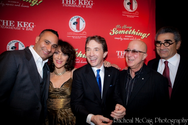 Russell Peters, Andrea Martin, Martin Short, Paul Shaffer and Eugene Levy Photo