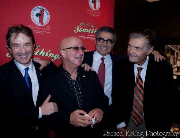 Martin Short, Paul Shaffer, Eugene Levy and Fred Willard