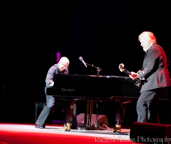 Paul Shaffer and Randy Bachman