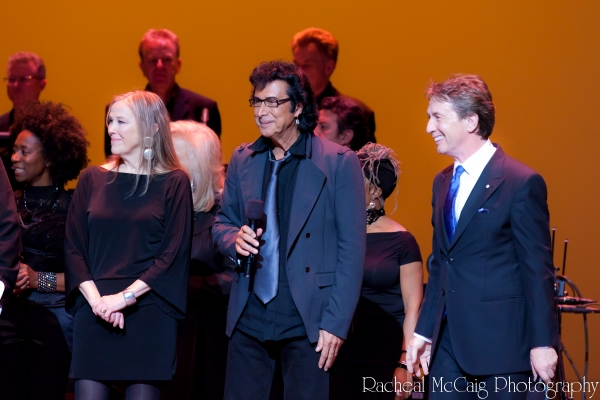 Catherine O'Hara, Andy Kim and Martin Short