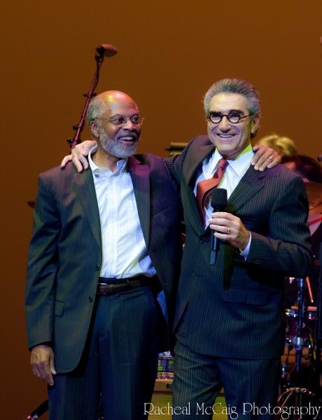 Rudy Webb and Eugene Levy Photo