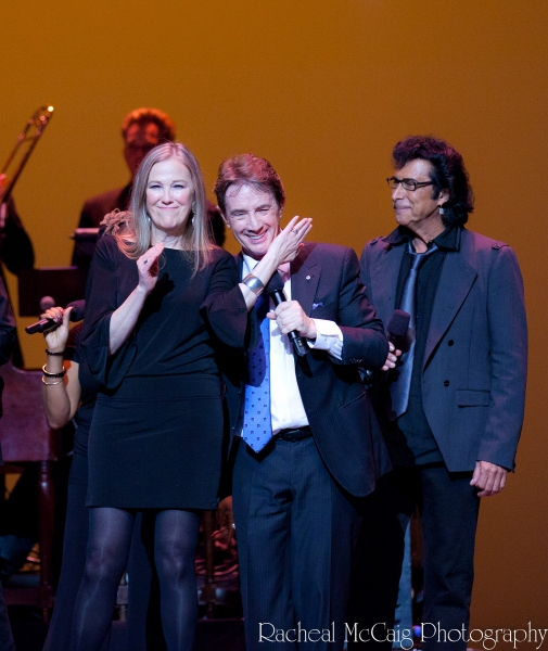 Catherine O'Hara, Martin Short and Andy Kim