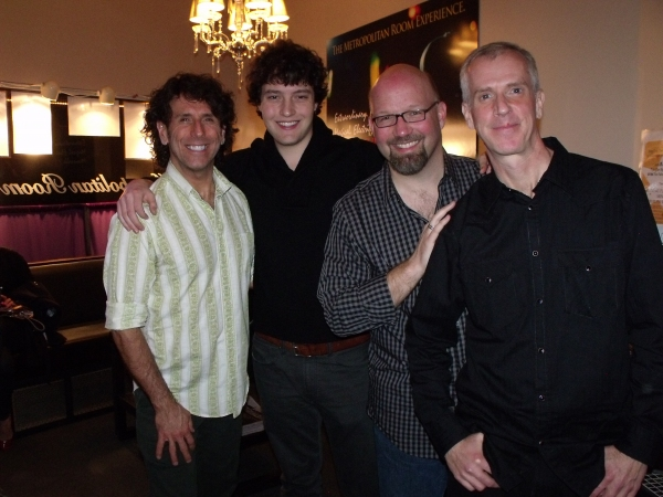 Tim DiPasqua, Charlie Lubeck, Scott Coulter and Tom Andersen