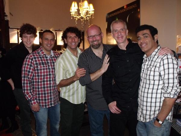 Charlie Lubeck, Ruben Flores, Tim DiPasqua, Scott Coulter, Tom Andersen and Marcus Simeone