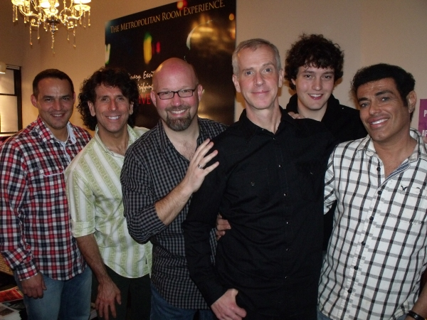 Ruben Flores, Tim DiPasqua, Scott Coulter, Tom Andersen, Charlie Lubeck and Marcus Simeone