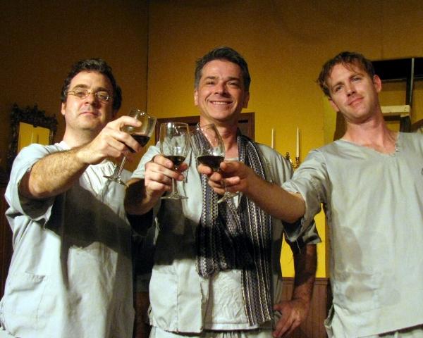 Brian Jason Kelly, Marty Berrien and John Helmke