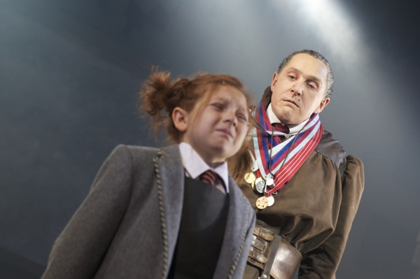 Bertie Carvel and Company Member at West End's MATILDA - Official Production Shots!