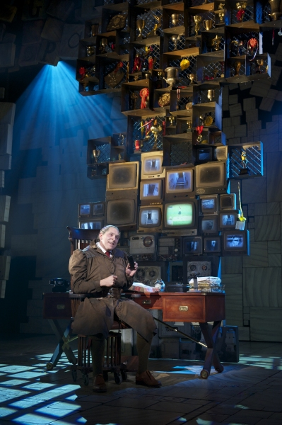 Bertie Carvel at West End's MATILDA - Official Production Shots!