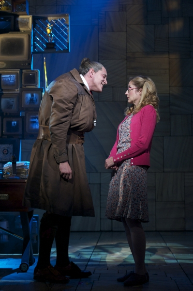 Bertie Carvel and Lauren Ward at West End's MATILDA - Official Production Shots!