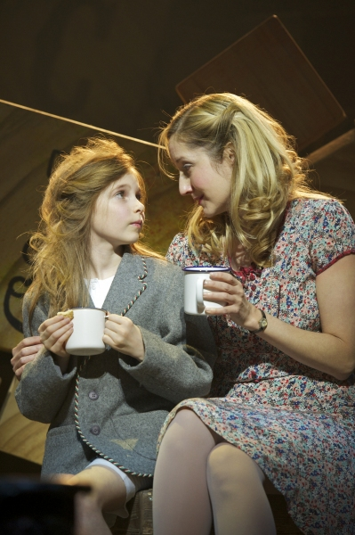 Eleanor Worthington Cox and Lauren Ward  at West End's MATILDA - Official Production Shots!