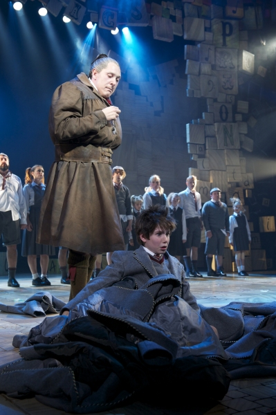 Bertie Carvel and Company at West End's MATILDA - Official Production Shots!