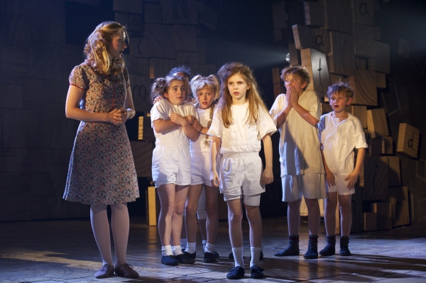 Lauren Ward and Company at West End's MATILDA - Official Production Shots!