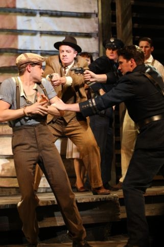 Jeremy Jordan, Joe Hart, Louis Hobson at BONNIE & CLYDE Production Shots - First Look!