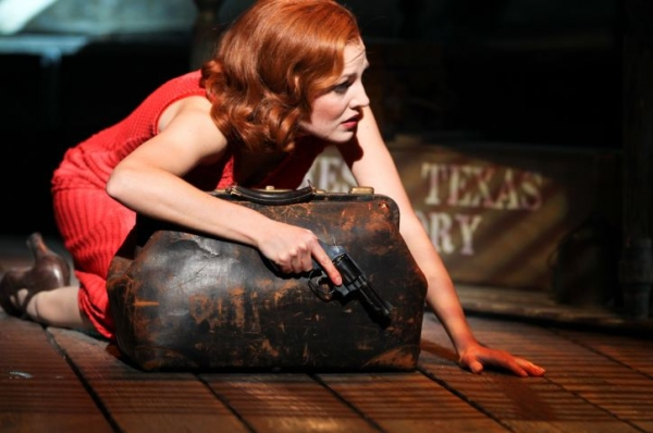 Photo Flash: BONNIE & CLYDE Production Shots - First Look!