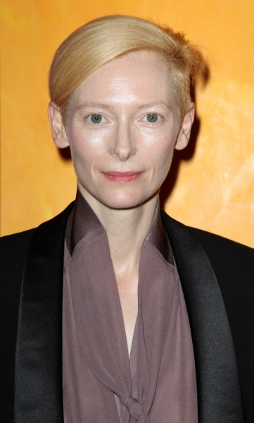 Tilda Swinton at Tilda Swinton & Gary Oldman Visit TimesTalks