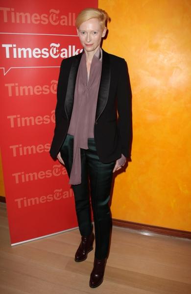 Tilda Swinton at Tilda Swinton & Gary Oldman Visit TimesTalks
