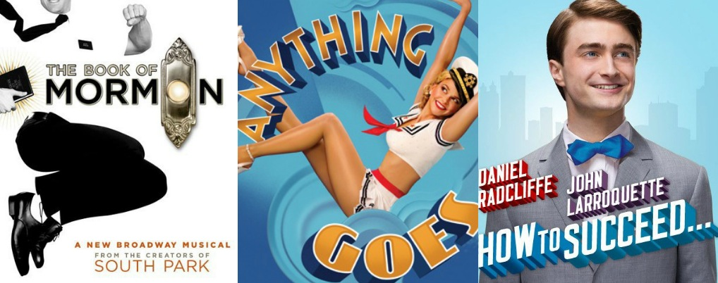 THE BOOK OF MORMON, ANYTHING GOES and HOW TO SUCCEED Land Grammy Nominations