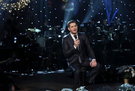 Michael Buble at First Look - NBC's A MICHAEL Bublé CHRISTMAS Airing 12/6