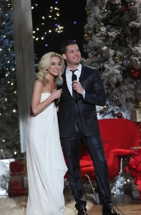 Kellie Pickler & Michael Buble at First Look - NBC's A MICHAEL Bublé CHRISTMAS Airing 12/6
