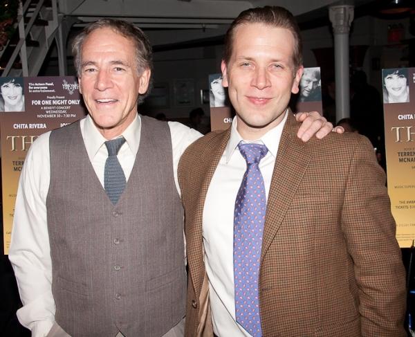 Mark Jacoby and Jeremy Webb