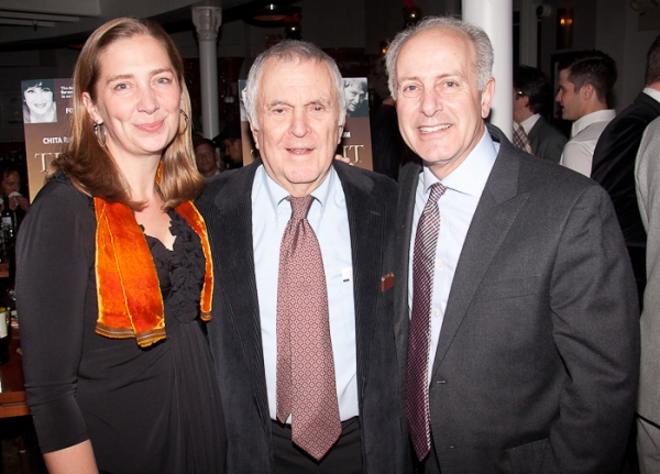 Jennifer Garvey Blackwell, John Kander, and Joseph P. Benincasa Photo
