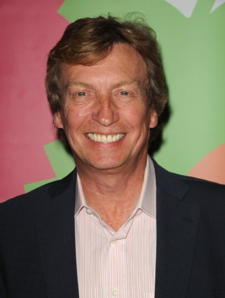 Nigel Lythgoe at GLEE's Lindsay Pearce Opens A SNOW WHITE CHRISTMAS Panto in LA